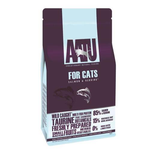 《AATU》超級8 皇室鮭魚+鯡魚無穀全齡貓乾糧