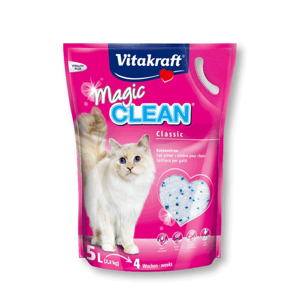 貓砂推薦-Vitakraft 神奇抗菌水晶貓砂