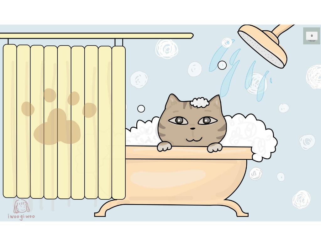 貓咪髒兮兮?5個步驟讓新手貓奴學會幫貓咪洗澡!