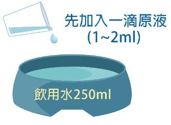 潔牙白潔牙水開箱-使用方式1