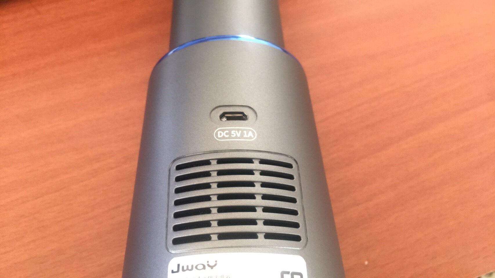 Jway貓咪空氣清淨機-主機背面