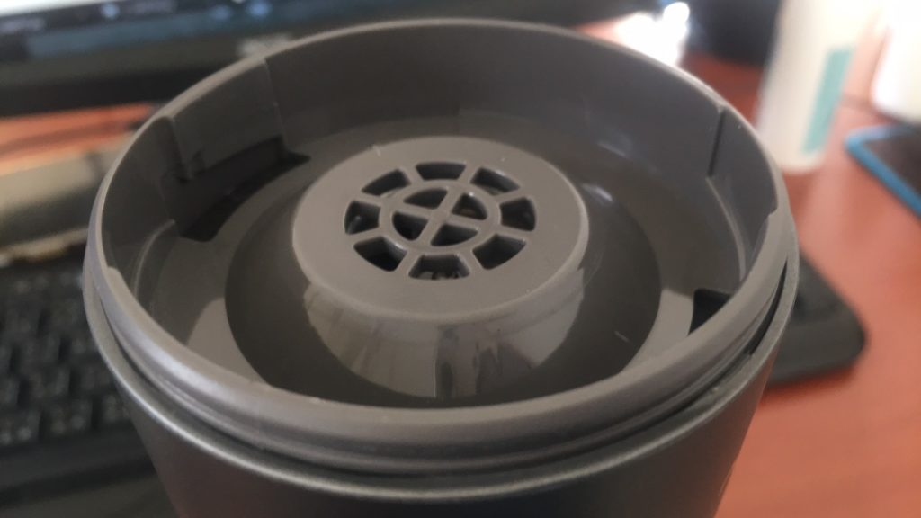 Jway貓咪空氣清淨機-吸塵器口