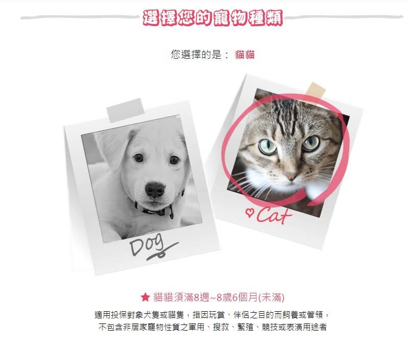 動物保險註冊步驟1