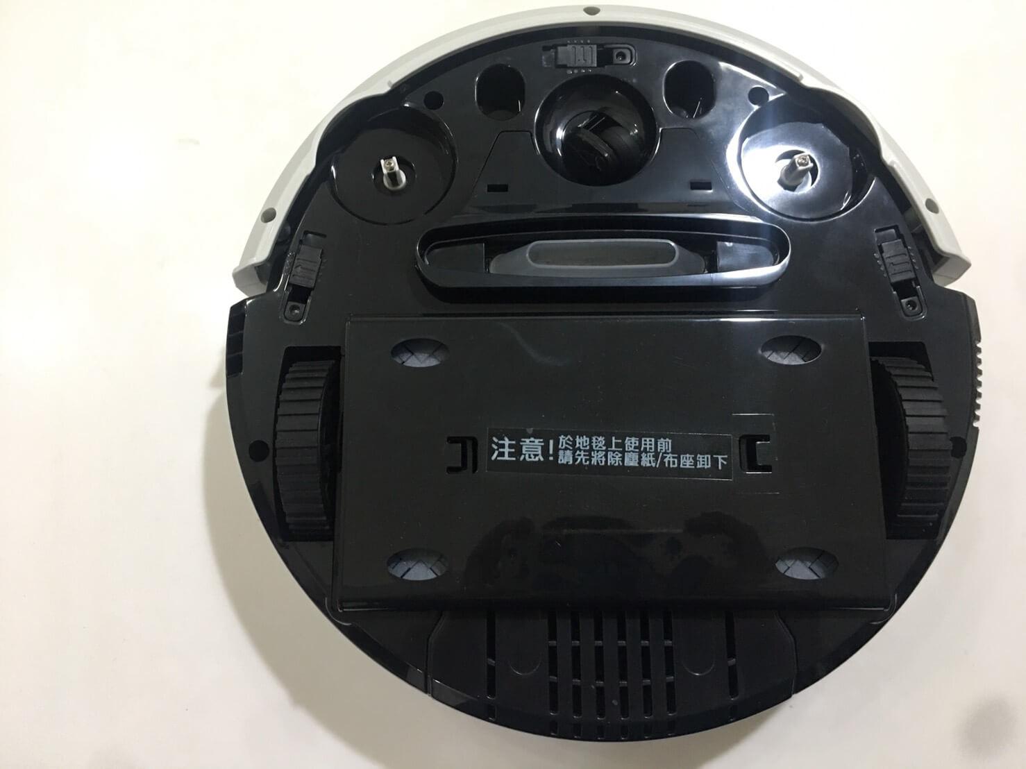 VBOT掃地機器人 背面照