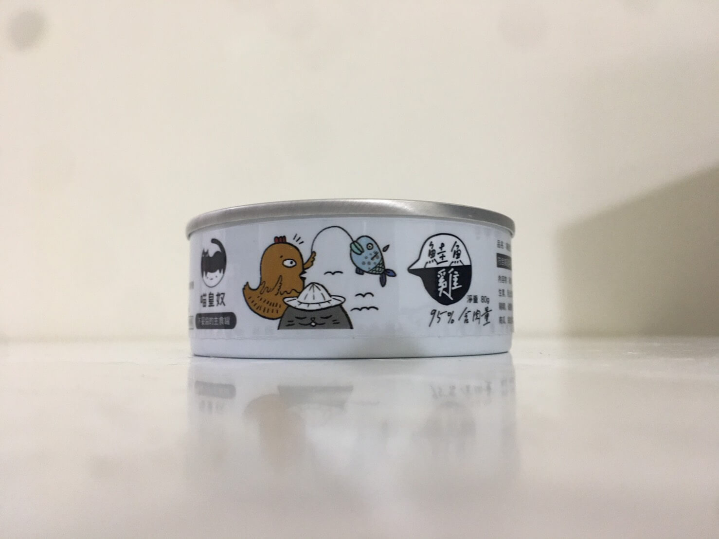 喵皇奴主食罐-雞肉+鮭魚