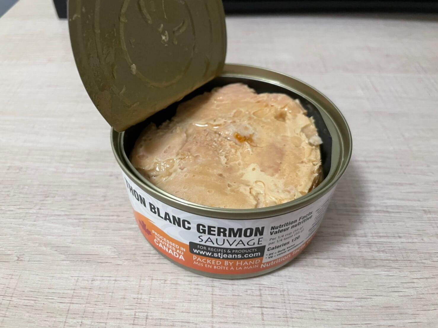 加拿大健康海岸人用罐內容物1